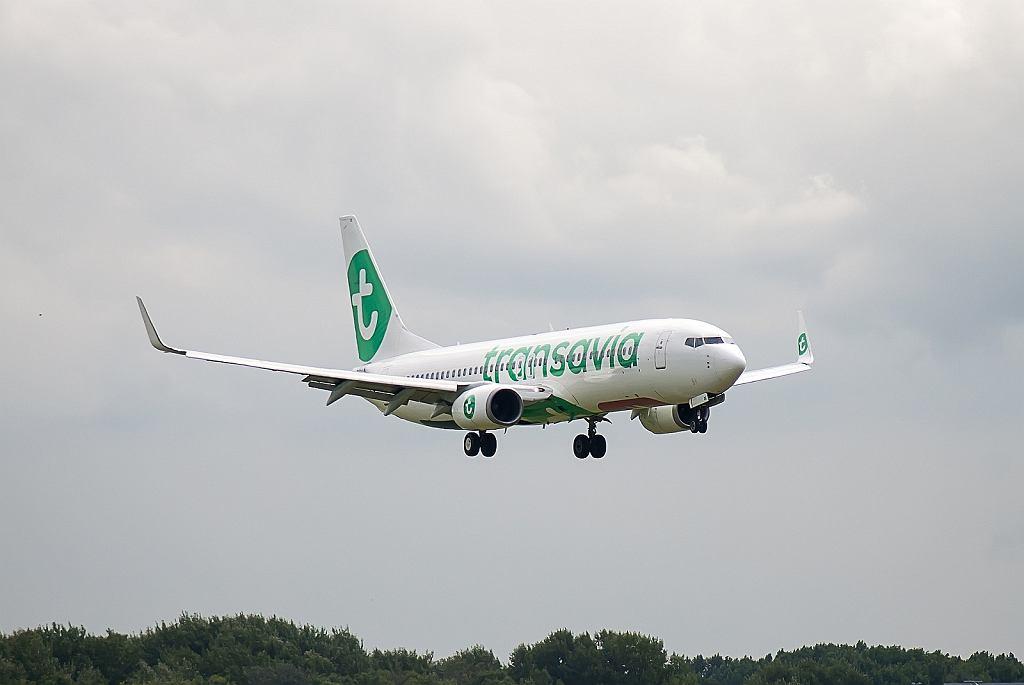 Samolot linii lotniczych Transavia