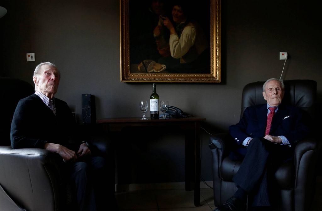 Paulus i Pieter Langerock z Belgii są najdłużej żyjącymi bliźniakami na świecie. W tym roku od ich narodzin mijają 103 lata.
