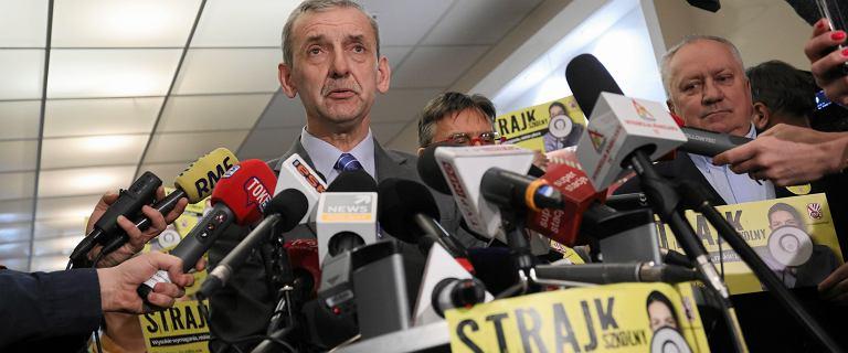 Sławomir Broniarz o premierze Morawieckim:
