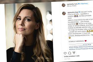 Agnieszka Hyży w ciąży? Fani gratulują