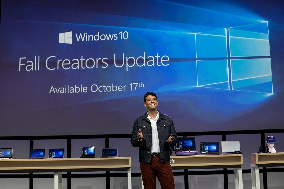 Windows 10 Fall Creators Update trafi do użytkowników 17 października