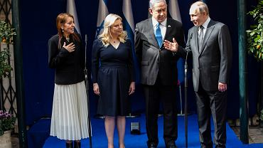 CORRECTION Israel Auschwitz Liberation Anniversary