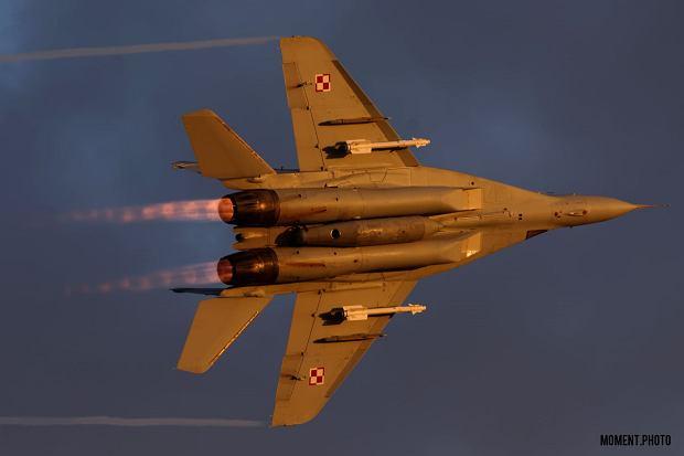 MiG-29 w akcji (Fot. Tomasz Gackowski/Moment Photo)