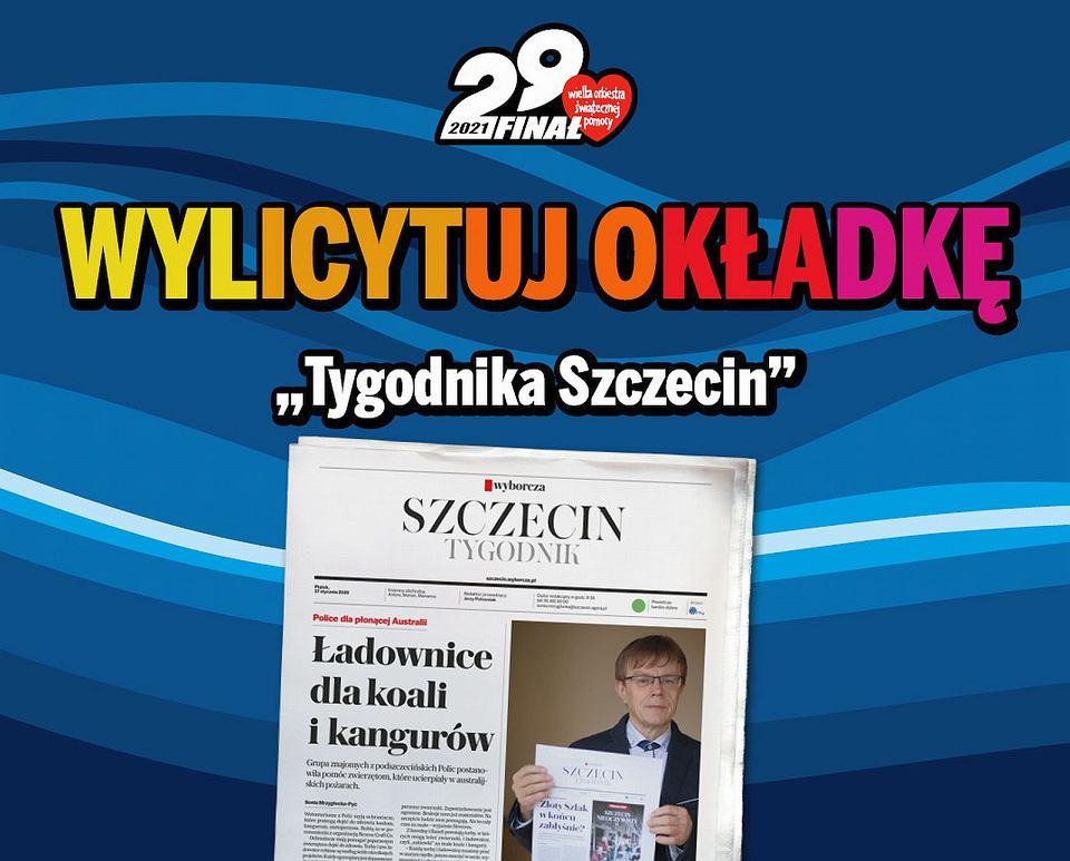 Wylicytuj dla WOŚP okładkę 'Tygodnika Szczecin'