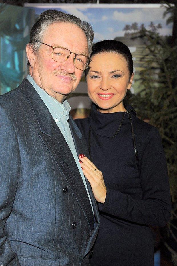 Damian Damięcki i Grażyna Brodzińska