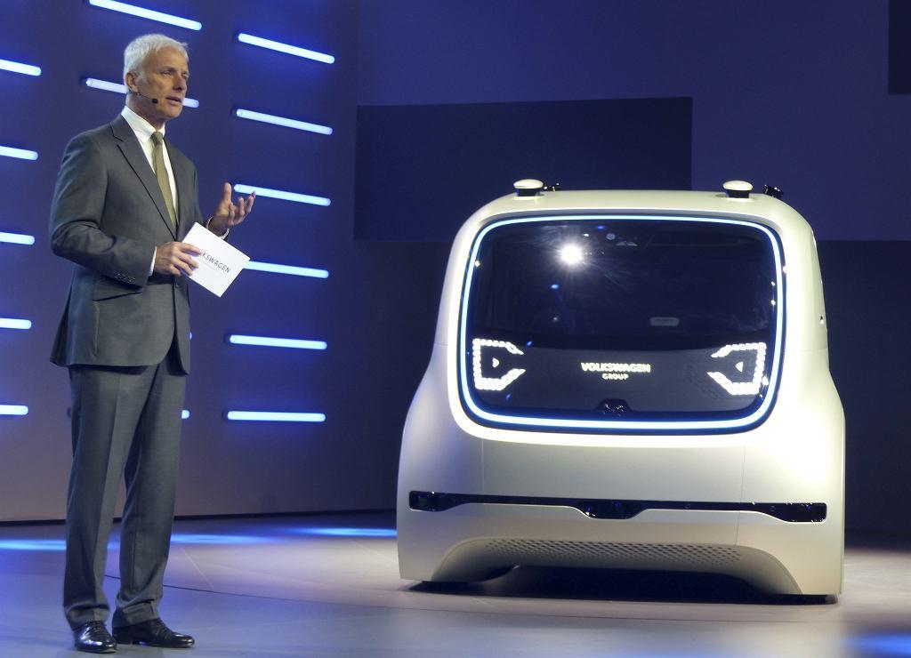 Matthias Mueller szef Volkswagena