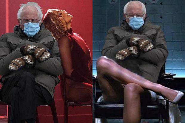 Bernie Sanders podczas zaprzysiężenia Joe Bidena wyczekiwał na krzesełku w ciepłej kurtce i wełnianych, wzorzystych rękawiczkach. Zdjęcie polityka stało się wiralem, podobnie jak memy z nim w roli głównej.