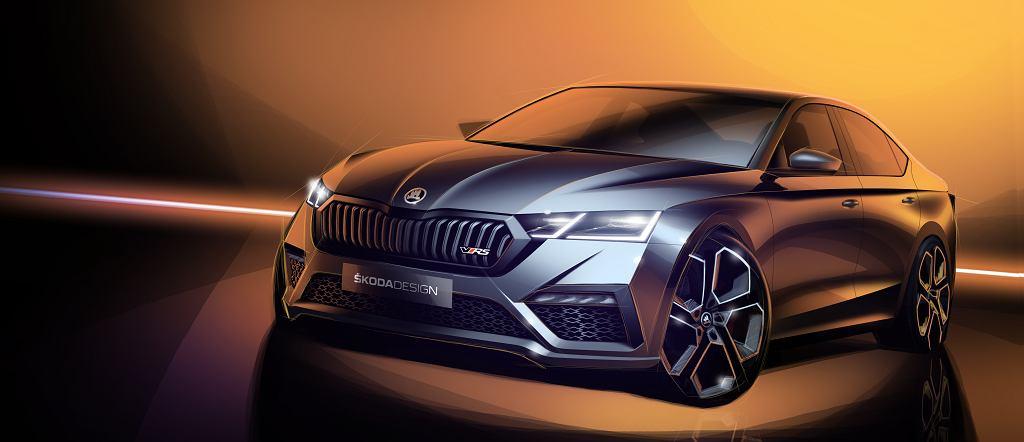 Skoda Octavia RS 2020 teaser