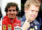 Formuła 1. Vettel obok Fangio, Schumachera i Prosta