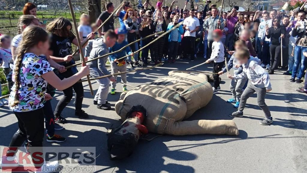 'Sąd nad Judaszem' w Pruchniku