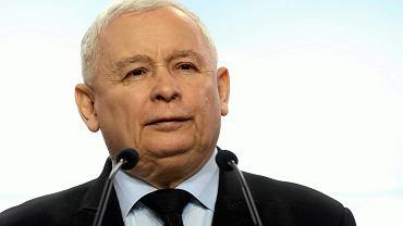 Jarosław Kaczyński liderem sondażu 'Któremu z polityków ufasz najmniej?'