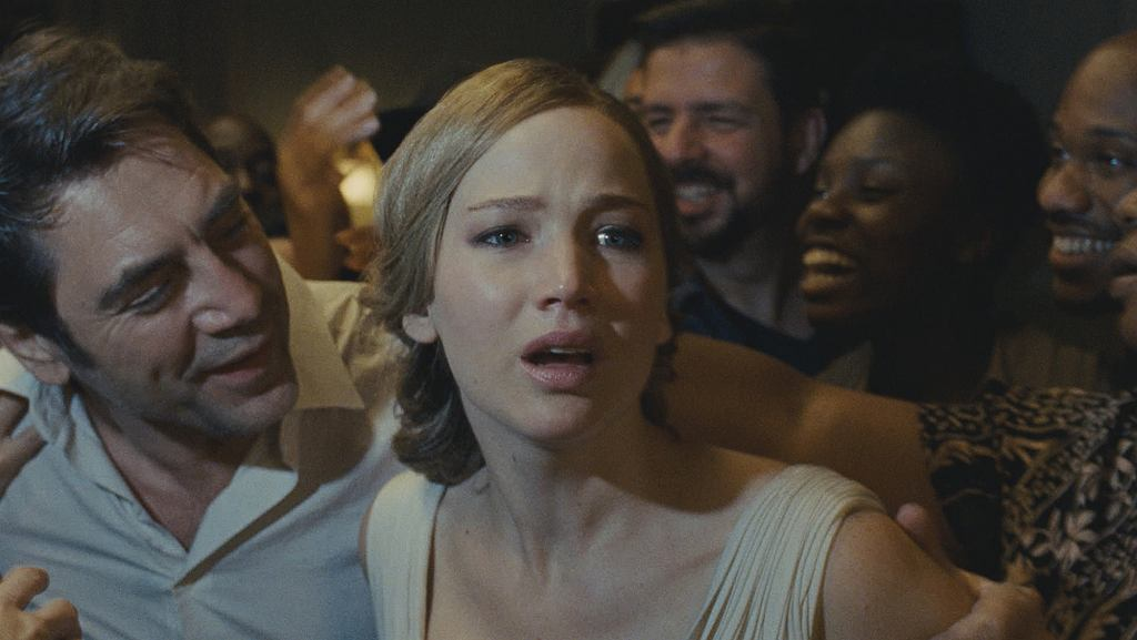 kadr z filmu Mother! - mat. Camerimage