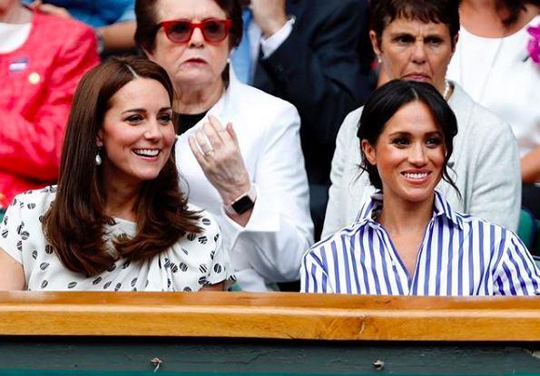Księżna Kate Middleton trzy miesiące po porodzie zachwyca podczas Wimbledonu