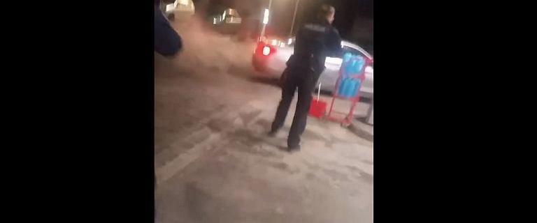 Kobieta zdemolowała autem stację i uciekła. Wpadła w szał po kłótni