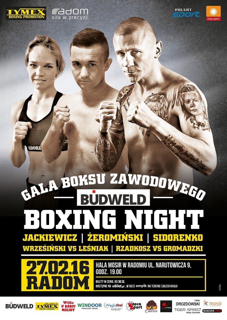 gala boksu w Radomiu