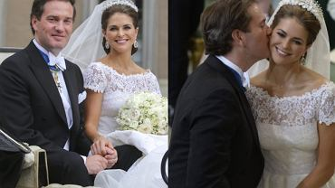 Księżniczka Madeleine i  Christopher O'Neill.