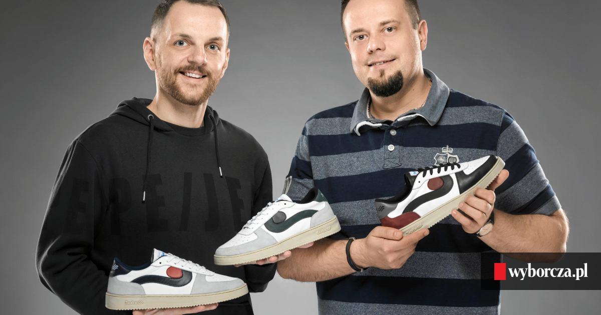 Chłodny W butach kultowej marki Sofix znów się chodzi. Wskrzesiło ją dwóch WQ97