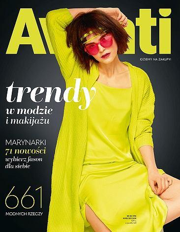 """Kwietniowe """"Avanti"""" z najmodniejszymi trendami na wiosnę i bezpłatną wysyłką do domu"""