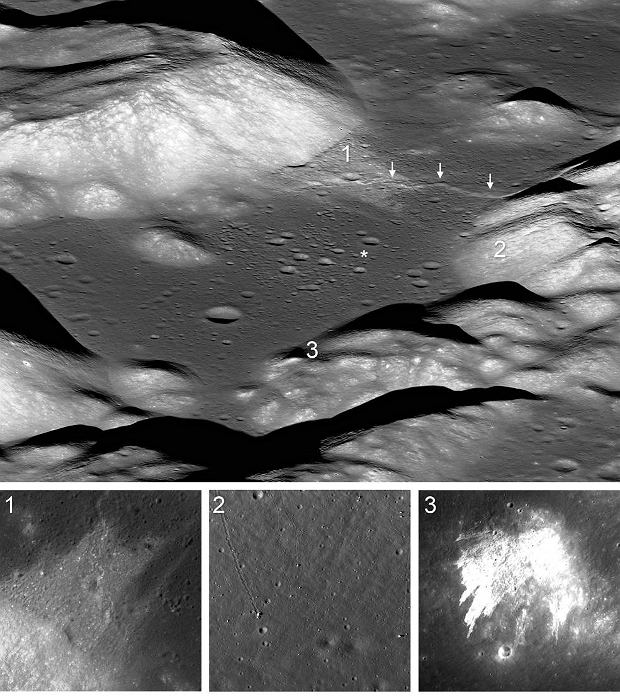 Wg naukowców Księżyc jest nadal aktywny tektonicznie