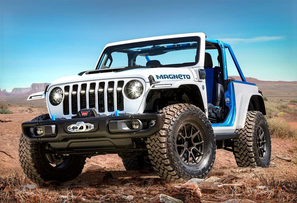 Jeep Magneto concept - elektryczny Wrangler