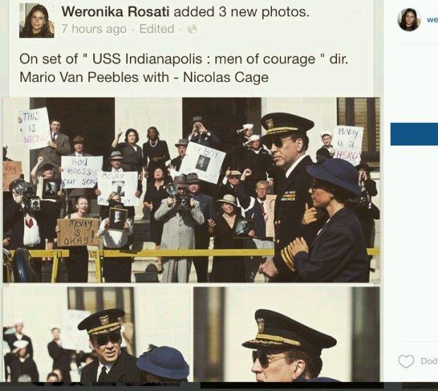 Weronika Rosati, Nicolas Cage