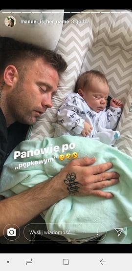 Artur Boruc z synem