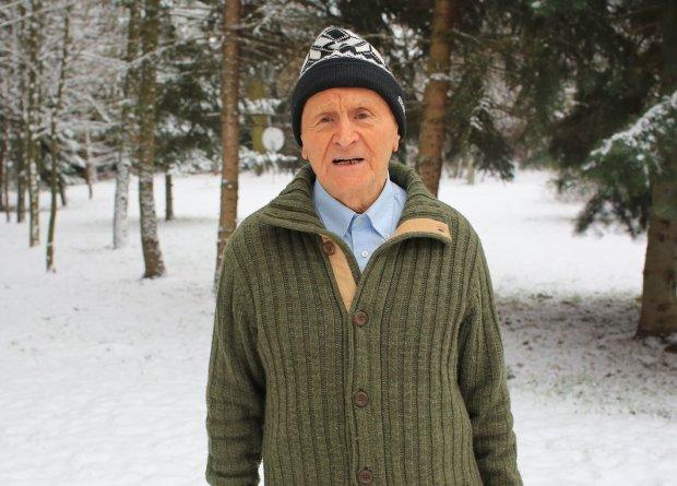 Patenty na długowieczność Dziarskiego Dziadka. Ma ponad 90 lat i radzi jak zachować kondycję