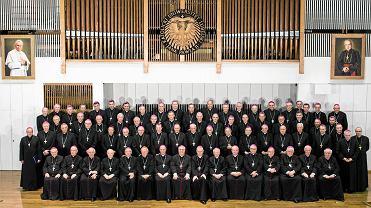 12.10.2017, biskupi podczas zebrania plenarnego Konferencji Episkopatu Polski.