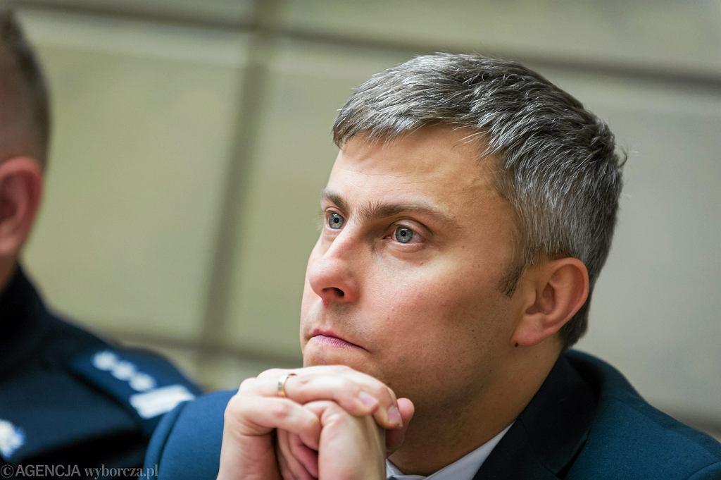 Wojewoda śląski Jarosław Wieczorek