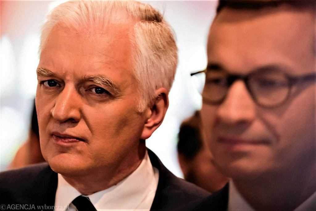 Jarosław Gowin, Mateusz Morawiecki