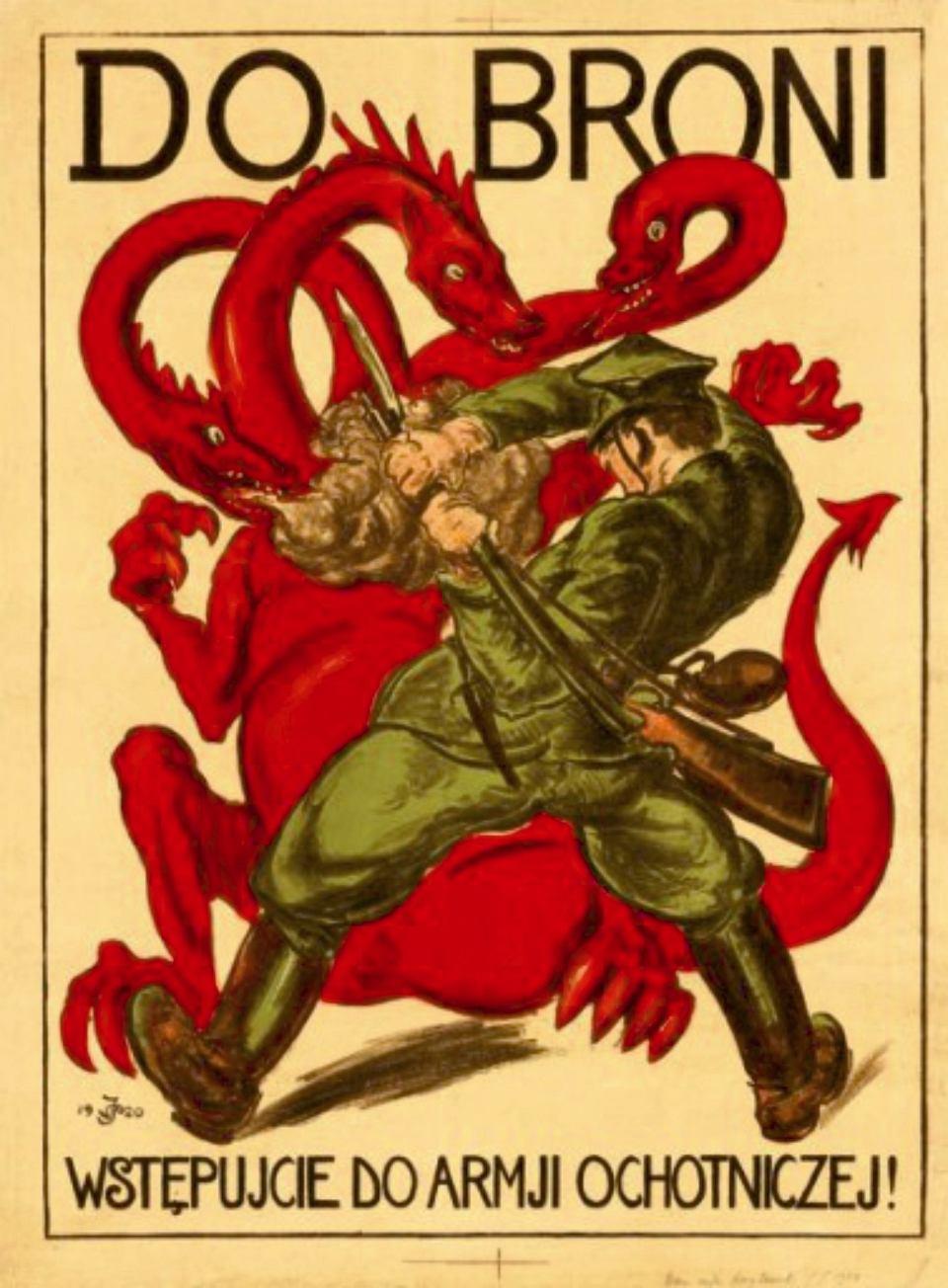 Do Broni Plakaty Propagandowe Obu Stron Z Czasów Wojny