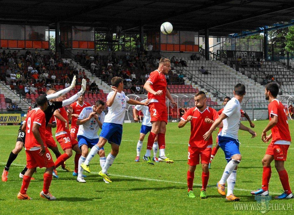Wisła wygrała w sparingu z Widzewem Łódź 5:0
