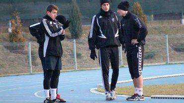 Trening piłkarzy Broni Radom