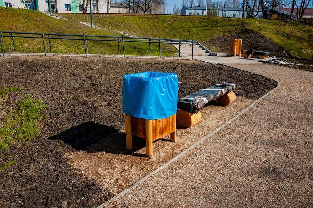 Zdjęcie numer 9 w galerii - Park Tysiąclecia w Sosnowcu w trakcie rewitalizacji.