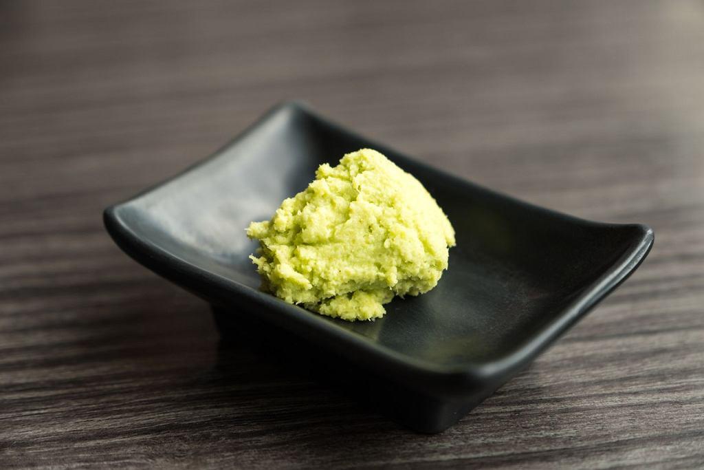 Wasabi, które zwykle jesz w sushi to nie prawdziwe wasabi. A więc co?