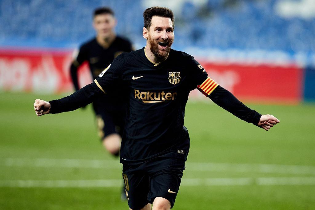 Leo Messi znów cieszy się grą dla Barcelony