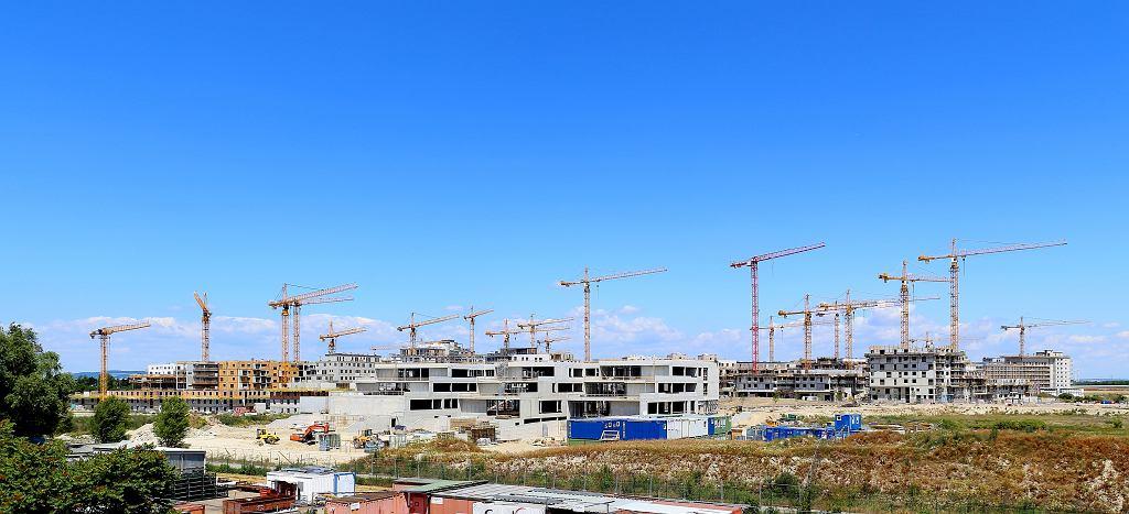 Budowa osiedla Seestadt Aspern