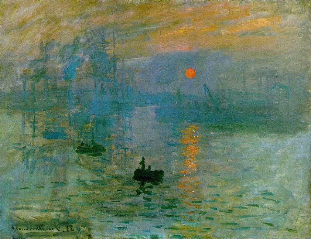 Claude Monet. Impresja, wschód słońca (1872)
