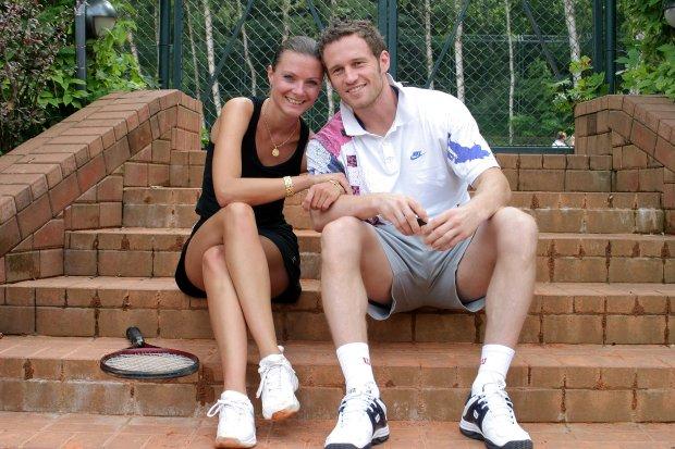 Agata Konarska i Mariusz Czerkawski