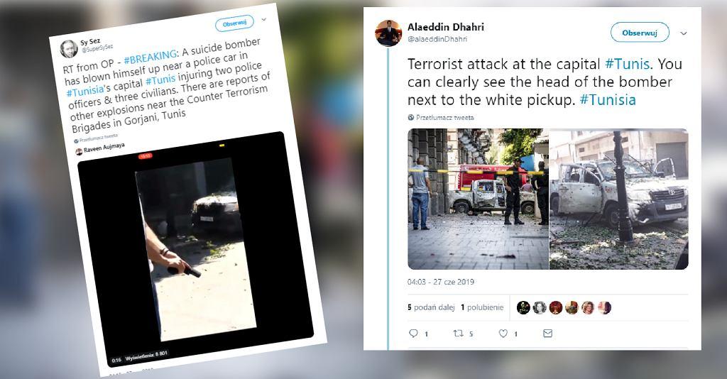 Zamach bombowy w Tunezji