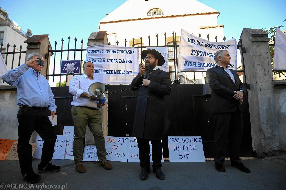 Wojna żydowsko żydowska Pod Synagogą O Co Chodzi W