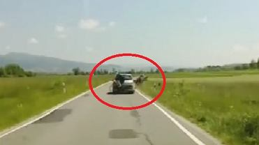 Wypadek na drodze pod Tatrami
