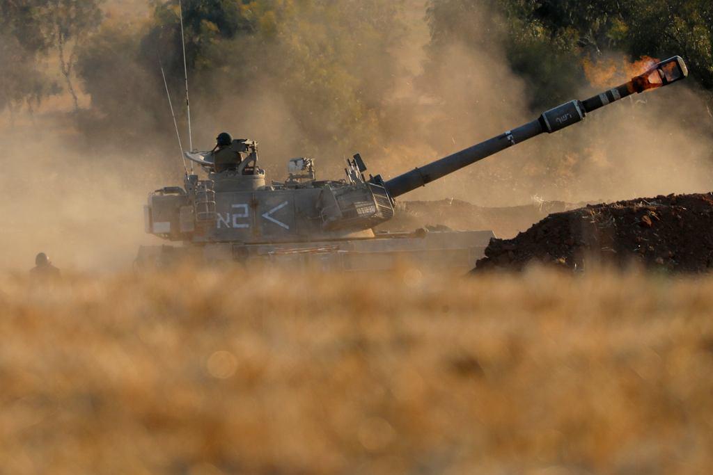 Najsilniejszy od lat atak Izraela na Strefę Gazy