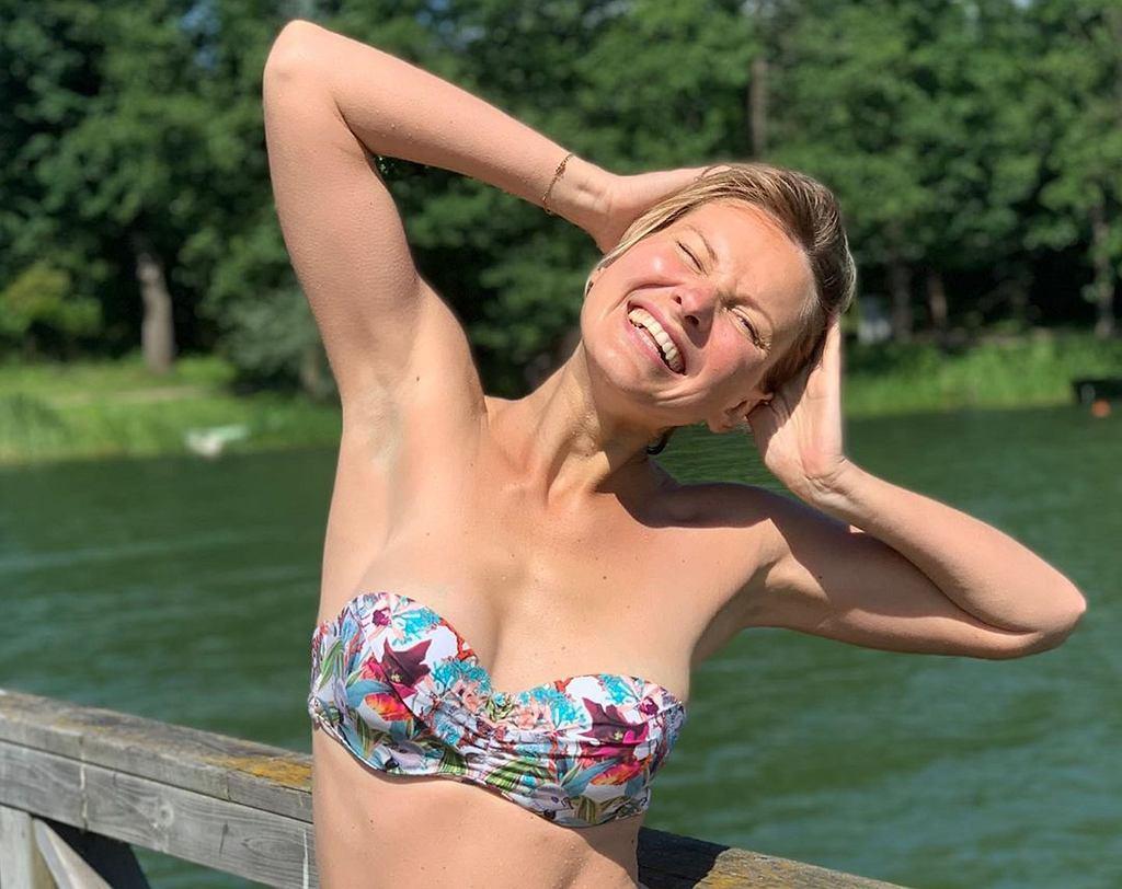 Joanna Moro - sylwetka po ciąży