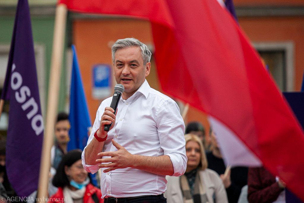 Kandydat na prezydenta RP Robert Biedroń