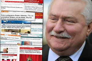 Wałęsa namawiał do połączenia Polski i Niemiec? Sprawdziliśmy, co naprawdę powiedział