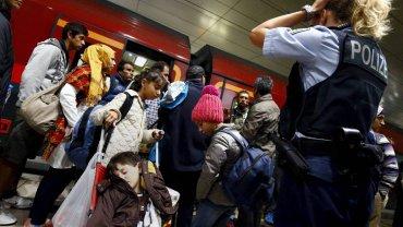 Uchodźcy na niemieckiej granicy