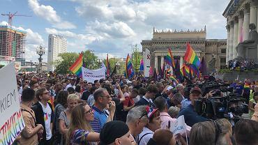Manifestacja Warszawa przeciw przemocy