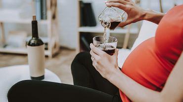 Kobieta w ciąży i alkohol
