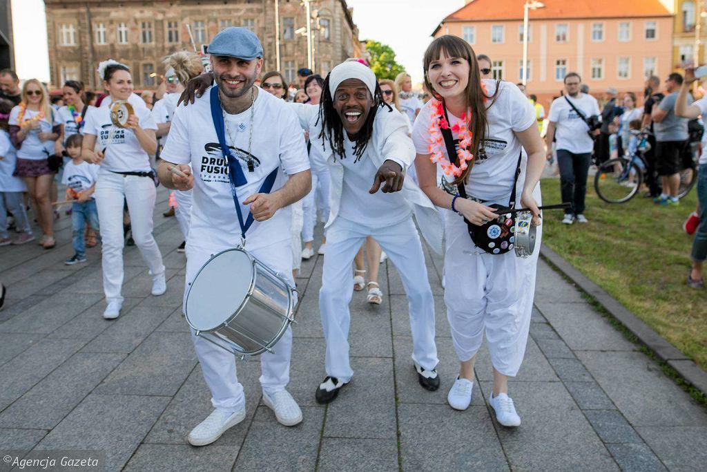 Parada Drumsfusion 2017 w Bydgoszczy.